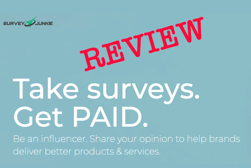 Paid Survey Review:  Survey Junkie
