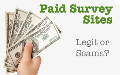 Are Paid Surveys Legitimate or Scams?